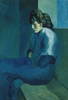 Pablo_Picasso,_1902-03,_Femme_assise_(Melancholy_Woman),_oil_on_canvas,_100_x_69.2_cm,_The_Detroit_Museum_of_Art.jpg 1024×1499 pixels