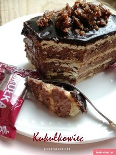 Cookie Desserts, No Bake Desserts, Delicious Desserts, Yummy Food, Food Cakes, Cupcake Cakes, Sweet Recipes, Cake Recipes, Polish Recipes