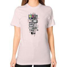 Technicolor Unisex T-Shirt (on woman)