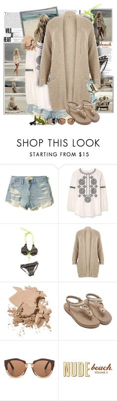 """""""Chunky Knits"""" by summersunshinesk7 ❤ liked on Polyvore featuring Balmain, WALL, Hollister Co., Tory Burch, River Island, Bobbi Brown Cosmetics, Marni, Chanel and vintage"""