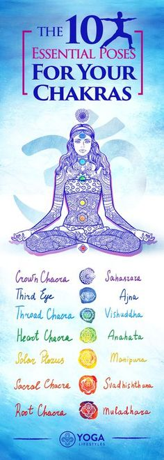 Illness Repellant: The 10 Essential Poses for Your Chakras