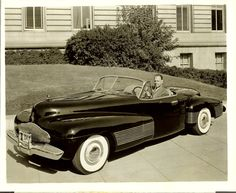 1938 Buick Y-Job is generally considered the industry's first concept car.