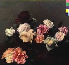 New Order: Power, Corruption & Lies,design Peter Saville , cover Painting Roses - Henri Fantin-Latour January 1836 – 25 August was a French painter and lithographer best known for his flower paintings and group portraits of Parisian artists and writers. New Order Album Covers, Cool Album Covers, Album Cover Design, Music Album Covers, Peter Saville, Henri Fantin Latour, Cover Art, Cd Cover, Roman Photo