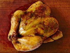 Roast Chicken with Blood Orange-Fennel Salad Recipe : Food Network Kitchen : Food Network