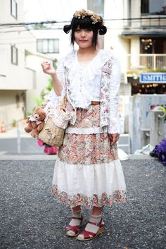 Mori Kei Girls - Harajuku (sp?)  Love the boho vibe so much!!! I just GET this place.