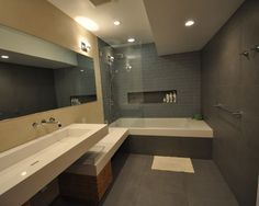 Tub Shower Combo Design, Pictures, Remodel, Decor and Ideas - page 33