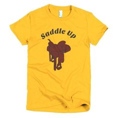 Women's Saddle Up T-shirt