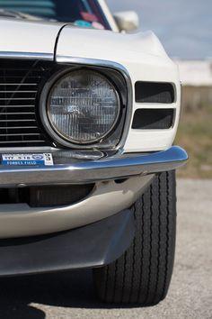 1970 Ford Mustang Boss 302 Headlight