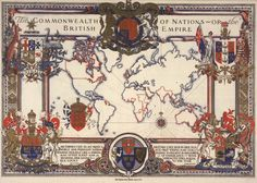 Map of the British Empire (HIST 306)