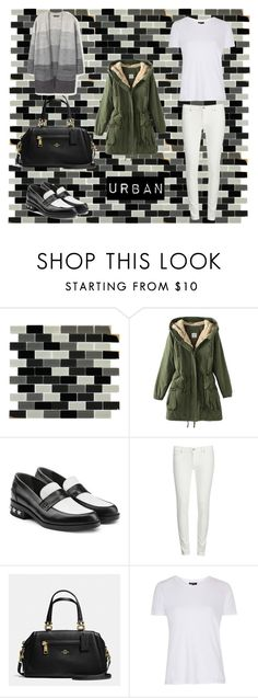 """""""How to wear parka"""" by helen-alexandrov on Polyvore featuring мода, Karl Lagerfeld, Levi's, Coach, Topshop, MANGO и parka"""
