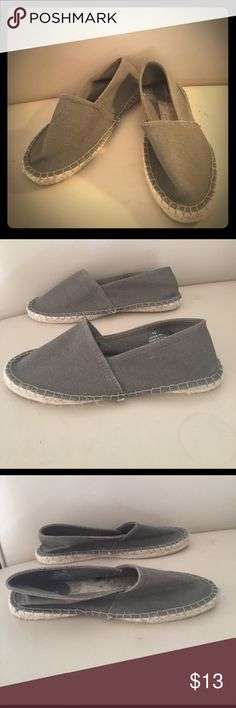 Olive Green Express Flats Size 10 Express Flats Size 10 excellent used condition. Minimal signs of wear, see pictures for condition. Express Shoes Flats & Loafers
