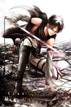 Eren - Shingeki no Kyojin<----Look at that face! D ores anyone think he didn't look good?