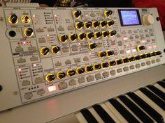 Korg Radias Synthesizer Vocoder keyboard