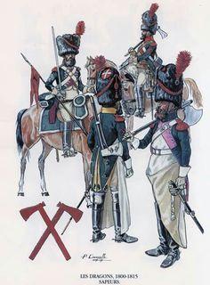 Dragoon-sappers, 1800-1815.
