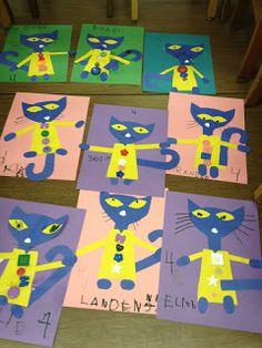 Mrs. Goff's Pre-K Tales: We Love Pete the Cat