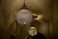 Image result for moroccan lights in living room