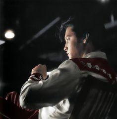 Elvis as Deke Rivers in 'Loving You', 1957
