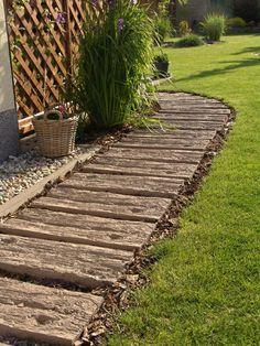 Home Landscaping, Front Yard Landscaping, Outdoor Projects, Garden Projects, Seaside Garden, Garden Paths, Outdoor Gardens, Landscape Design, Walkway