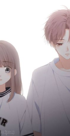 Anime Love Couple, Manga Couple, Anime Couples Manga, Cute Anime Couples, Anime Cupples, Anime Kawaii, Anime Art, Love Twins, Cute Teenage Boys