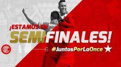 El Toluca, del peruano Christian Cueva, se clasificó a las semifinales del Torneo Apertura 2015 de la Liga MX al ganar 1-0 al Puebla con un gol del colombiano Fernando Uribe para completar un marcador global 3-2 en la eliminatoria. Noviembre 30, 2015.