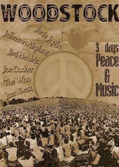 Woodstock 1969 by Eva Happy Hippie, Hippie Life, Hippie Style, 70s Hippie, Woodstock Poster, Woodstock Hippies, 1969 Woodstock, Woodstock Photos, Woodstock Festival