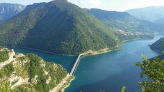 #мост через Пивское #озеро. #биеласица. #черногория #колашин #жабляк #дурмитор #природа #лето #интересное River, Outdoor, Outdoors, Outdoor Games, The Great Outdoors, Rivers