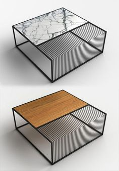 Coffee Table Design Inspiration Coffee Table Design Coffee Table Design InspirationCoffee Table Design Inspiration is a part of our furniture design in Coffee Table Design, Cool Coffee Tables, Coffe Table, Wood Table Design, Table Designs, Steel Furniture, Industrial Furniture, Table Furniture, Furniture Design