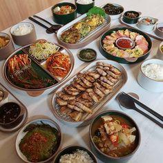 WARNING : The Most Wanted in Your Area Geng- geng beken Hannam Sen… # Fiksi Penggemar # amreading # books # wattpad Think Food, I Love Food, A Food, Good Food, Food And Drink, Yummy Food, Healthy Food, South Korean Food, Food Goals