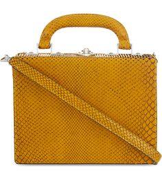 BERTONI 1949 - Python mini shoulder bag | Selfridges.com