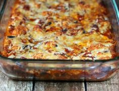 Bubble Up Pizza Casserole. Added mushrooms and