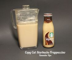 Save money by making this Copy Cat Starbucks Frappuccino Recipe at home! So easy to make and a great coffee treat! Copy Cat Starbucks Frappuccino - Tammilee Tips Starbucks Caramel Frappuccino, Homemade Frappuccino, How To Make Frappuccino, Iced Coffee Drinks, Coffee Drink Recipes, Starbucks Recipes, Coffee Coffee, Starbucks Drinks, Starbucks Coffee