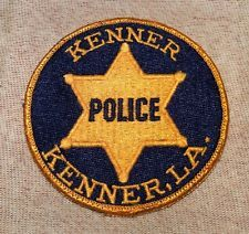 Kenner Louisiana Police Patch