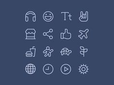 Moji App Iconography