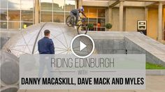 Watch: Danny MacAskill Riding Street Trials on a Santa Cruz 5010 http://www.singletracks.com/blog/mtb-videos/watch-danny-macaskill-riding-street-trials-santa-cruz-5010/