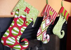23 Crafty Christmas Stocking Ideas