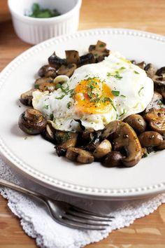 Gebraaide sampioene | SARIE | Fried mushrooms