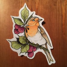 Robin <3 …