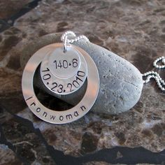 Ironwoman 140.6 Sterling Necklace