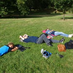 Green Park .. Lazy at work