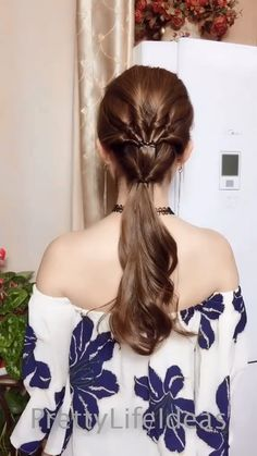 Best top hairstyles for long hair you Ll love for 2019 trend Hairstyles For Medium Length Hair Easy, Party Hairstyles For Long Hair, Hairdo For Long Hair, Long Hair Video, Top Hairstyles, Curly Hair, Hairstyles Videos, Thin Hair, Hairstyles For Girls Easy