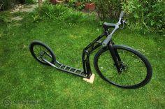 carbon DIY kickbike