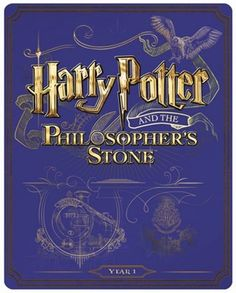 Harry Potter and the Philosopher's Stone (hmv Exclusive) Limited Edition Steelbook  http://store.hmv.com/film-tv/harry-potter-hmv-exclusive-steelbooks