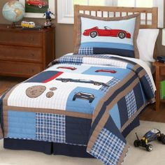 Pem America Cars Twin Quilt with Pillow Sham by Pem America, http://www.amazon.com/dp/B001BJ7BY2/ref=cm_sw_r_pi_dp_eA5Aqb087XSWV
