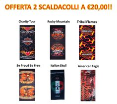 Nuova Offerta Tunnel, Bandane, Scaldacollo Harley-Davidson 2 al prezzo di 1. Sempre avanti Shopbikers.it