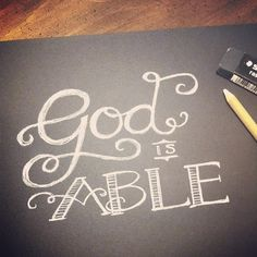 God is able! | Flickr - Photo Sharing!
