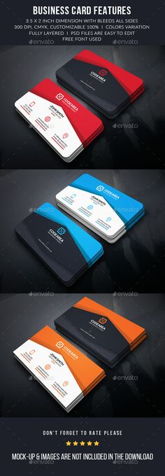 Abstract Creative Business Card Template #design Download: http://graphicriver.net/item/abstract-creative-business-card/13080893?ref=ksioks