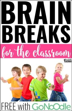 Brain breaks for the elementary classroom - This post teaches all about where to find the best brain break videos. Best of all, they're all FREE with GoNoodle! brain breaks in the classroom Brain Breaks For Kindergarten, Teaching Kindergarten, Teaching Tips, Preschool Learning, Preschool Ideas, Classroom Activities, Classroom Organization, Classroom Management, Class Management