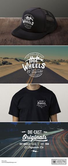 Hoodzpah Design Co. | Hot Wheels Hat and Tee Designs