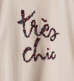 """Très chic"" sequin top - View all - T - shirts - Girl - Kids 