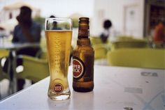 https://flic.kr/p/G5NADt | Super Bock. | Ilha do Santiago. (35mm) | by Samuel Musungayi. Captured with a Nikon FM and a roll of Kodak ColorPlus 200. | CanoScan 8600F.